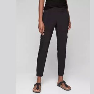 ATHLETA Chelsea Cargo Pant Black NWT
